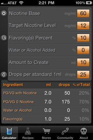 how to add nicotine to ejuice